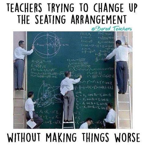 27 Teacher Problems That Will Make You Laugh Out Loud Teacher - free classroom seating chart maker