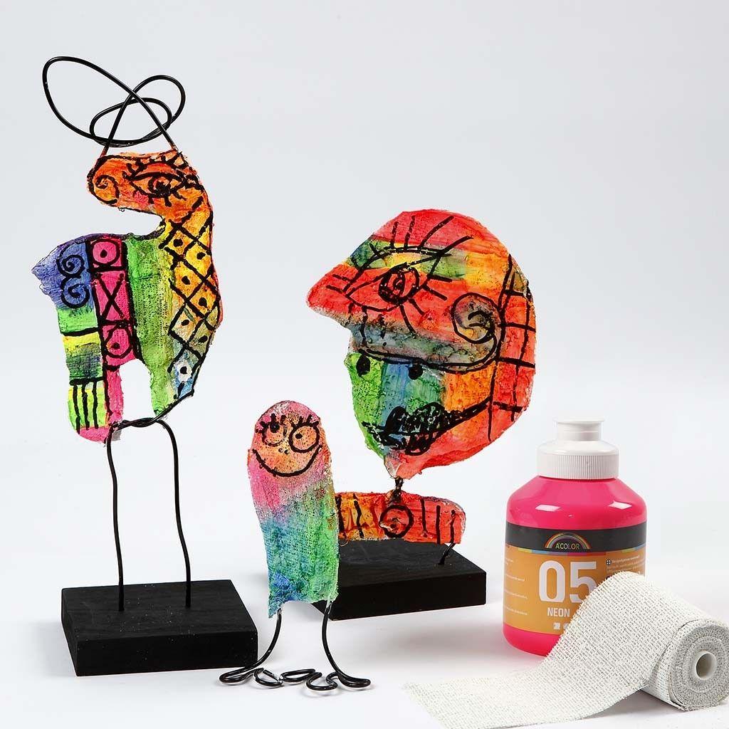 skulptur aus gipsbandagen aquarelllmalerei pinterest gips skulpturen und basteln. Black Bedroom Furniture Sets. Home Design Ideas