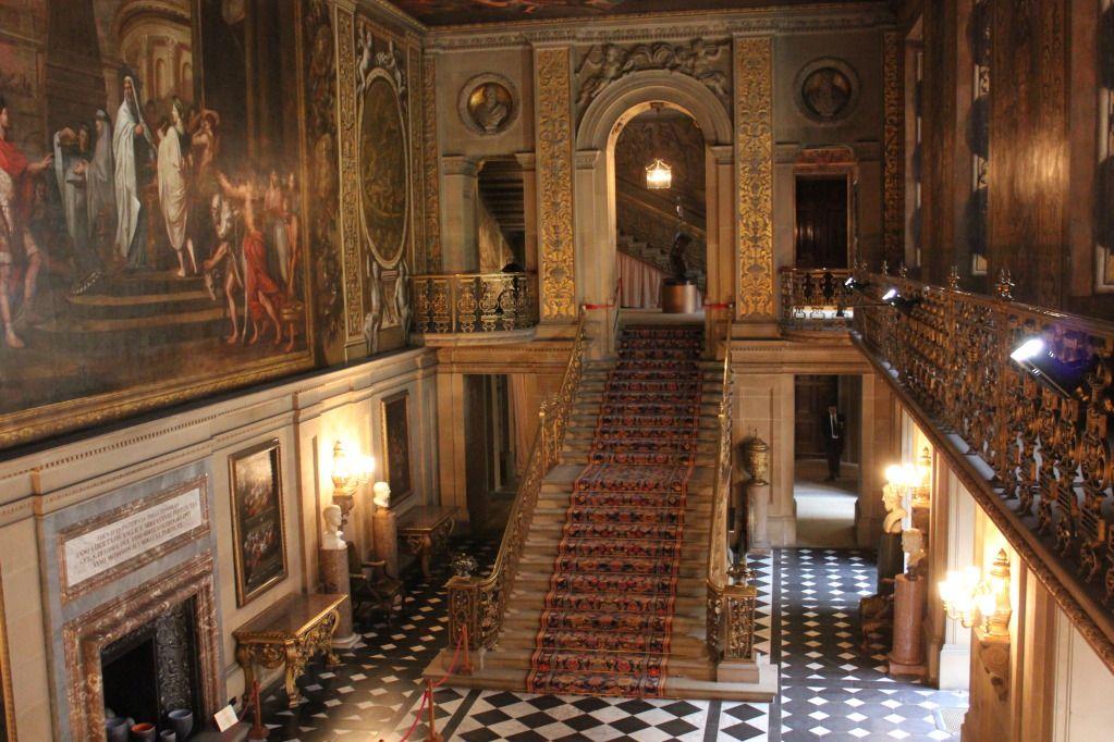 Chatsworth House Striking Floors