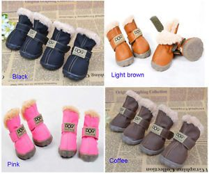 Winter-DOG-Australia-Booties-Snow-Boots-Sneakers-Shoes-for-Puppy-XS-Small- Dogs 7f82cc5d906b