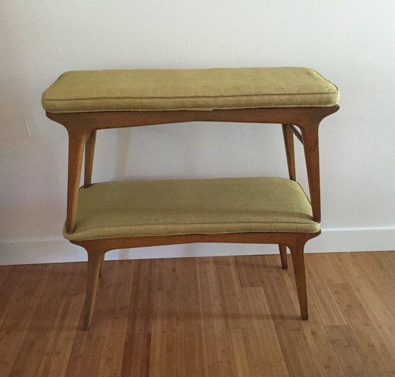 Mid-Century pair of benchs designed by John Van Koert for Drexel Profile…