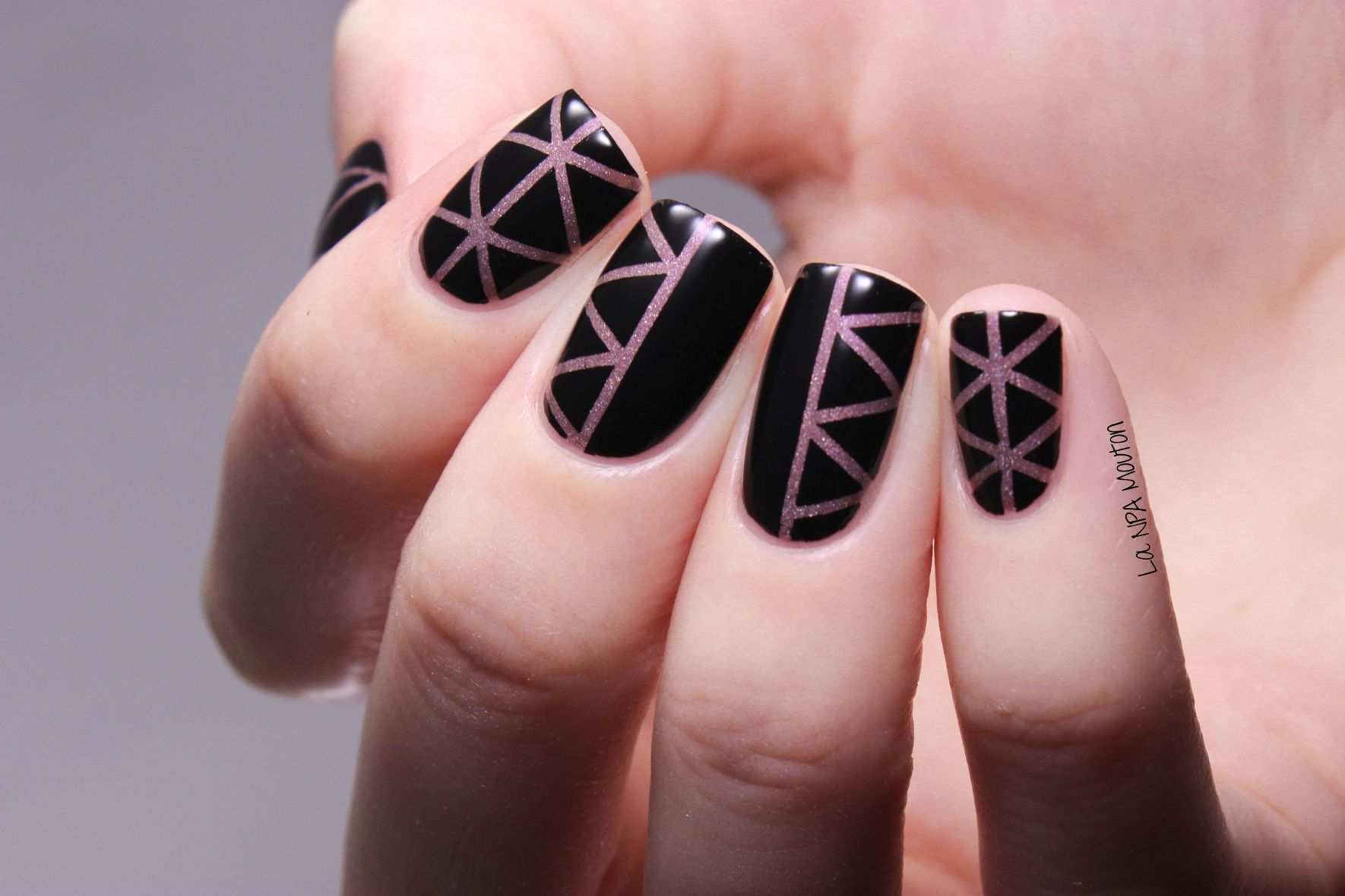 Il Etait Un Vernis - Something To Remember Striping Tape Nail Art 2 ...