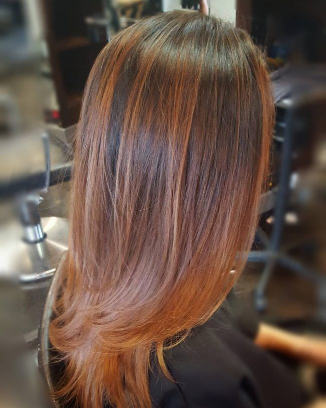 Autumn Orange Hair ideas Pinterest