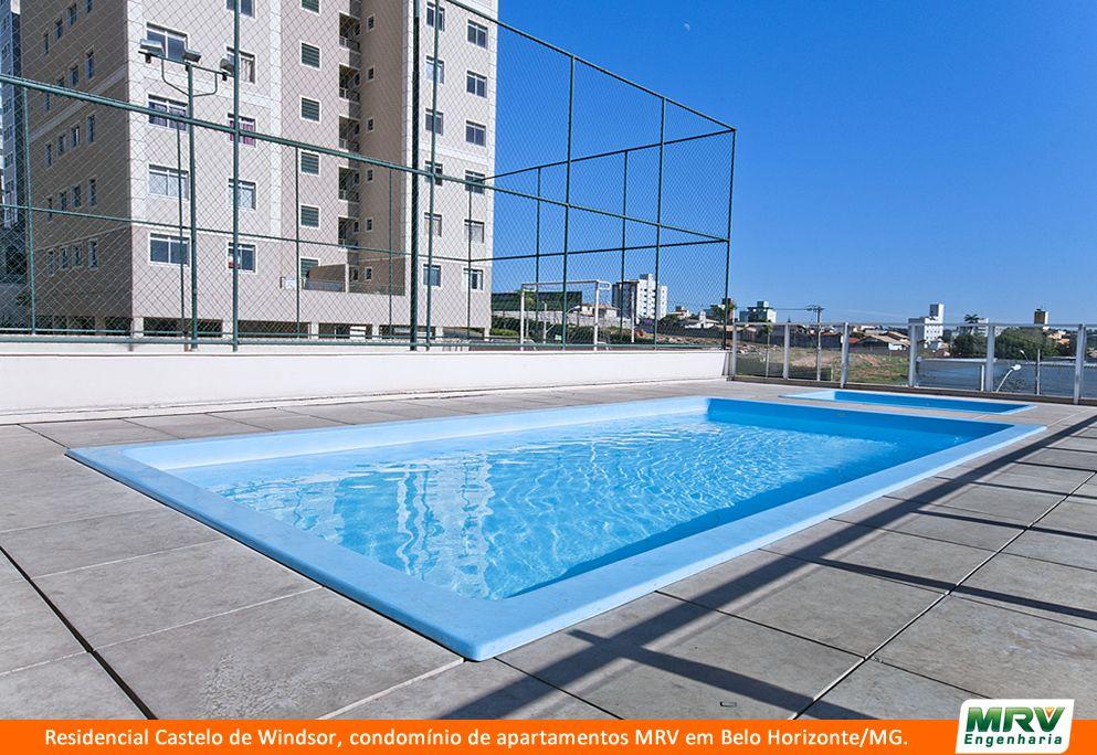 Paisagismo do Castelo de Windsor. Condomínio fechado de apartamentos localizado em Belo Horizonte / MG.