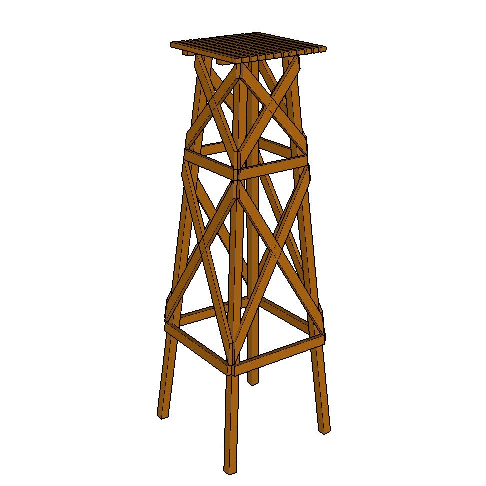 Windmill Base Plans | Wooden windmill, Windmill, Windmill diy
