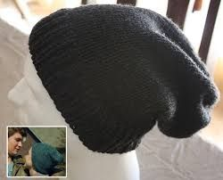 Image result for free knitting pattern for mens slouchy beanie ... 62a602fb070