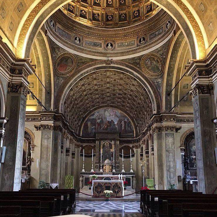 Ed eccoci in via Torino in Santa Maria presso San Satiro Foto di Rosanna D'Erario #milanodavedere