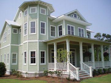 House · Exterior Paint Color Schemes | Tropical ...