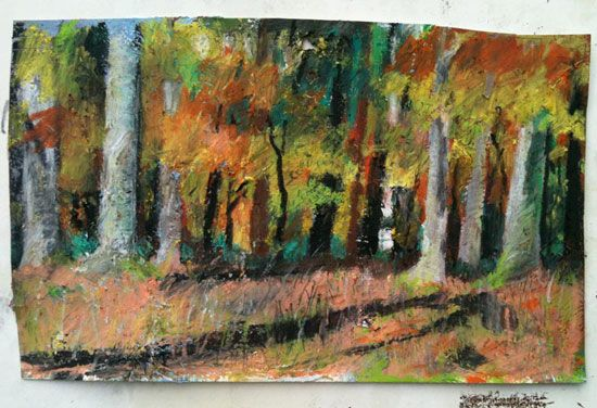 The Art Of The Landscape How To Draw And Paint Trees Tree Painting Painting Oil Pastel