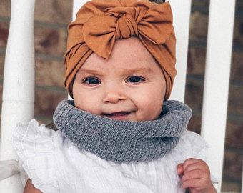 2b4a3f635c9 Camel baby turban hat