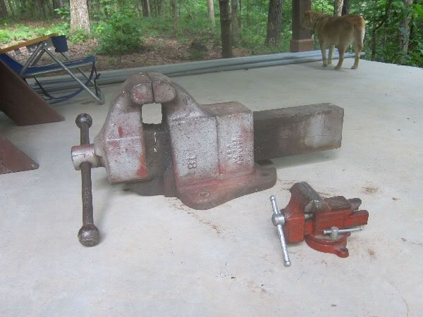 Hollands 18 Vise 350 400lbs Tools Of The Trade Bench