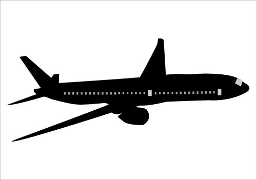 Airplane Silhouette Airplane Silhouette Silhouette Vector Silhouette Illustration
