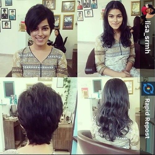 simple short hairstyle for indian girl | Short Indian hairstyles | Pinterest | Indian girls ...
