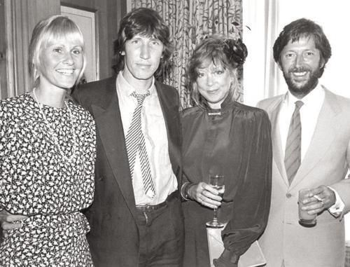 Carolyn Christie Roger Waters Pattie Boyd And Eric Clapton