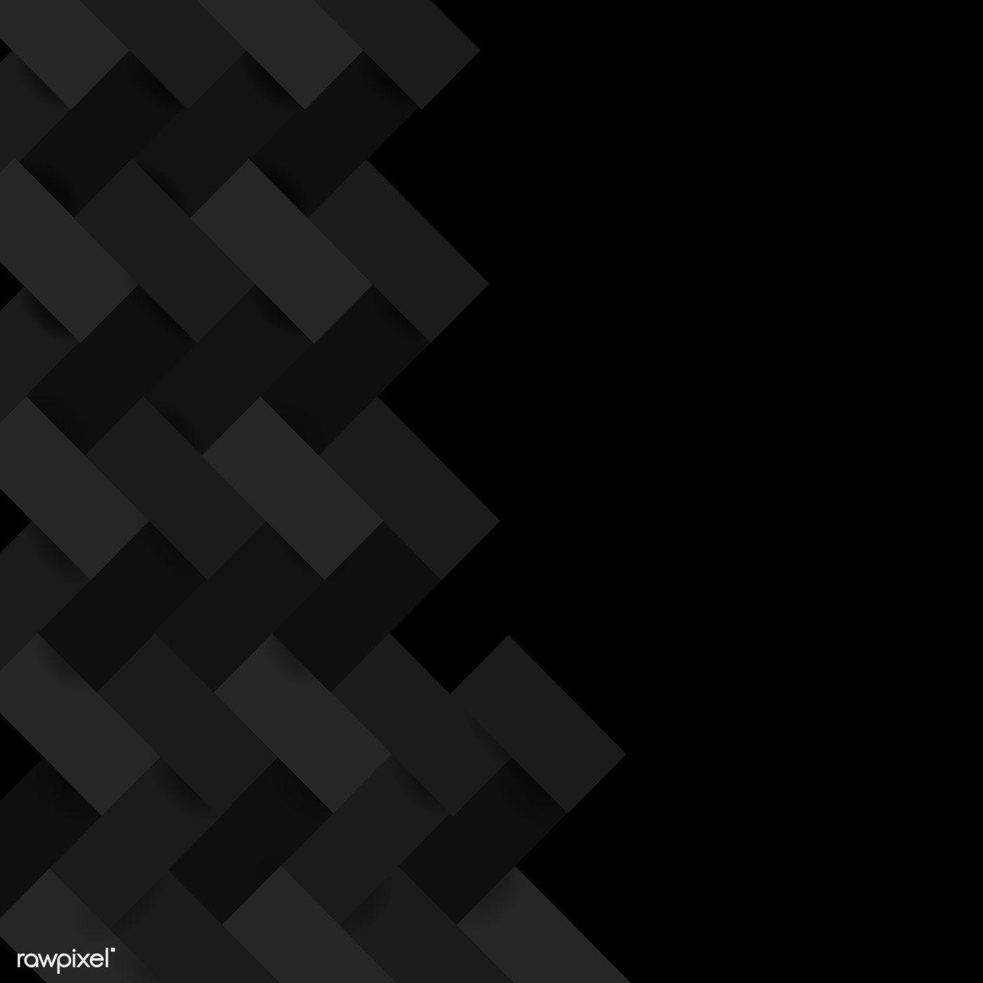 Black Modern Background Design Vector