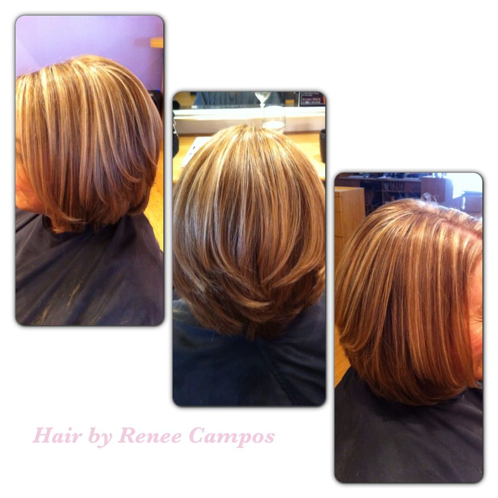 Mixture of darkest blonde base with honey highlight. A ...