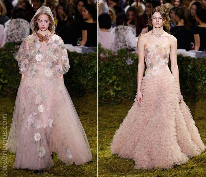 Vestidos Alta Costura primavera-verano 2017 de Dior http://www ...
