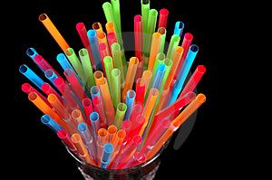 Colorful Straws for Colorful Cocktails!