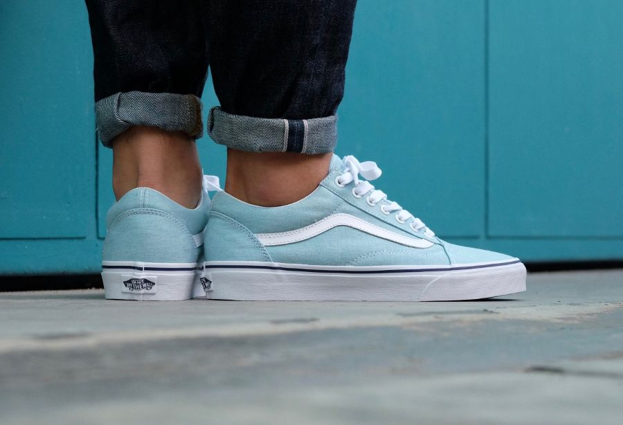 vans old school homme bleu