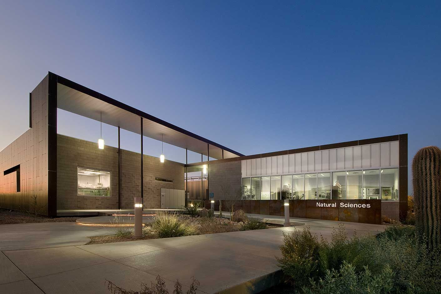Natural sciences building scottsdale community college for College building design