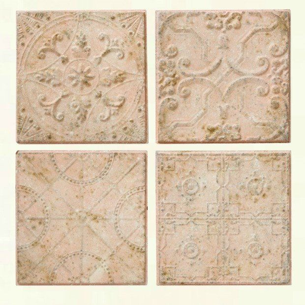 Embossed Tiles Wall Decor Embossed Tin Ceiling Tile Wall Decor Set Of 4  Tin Ceilings