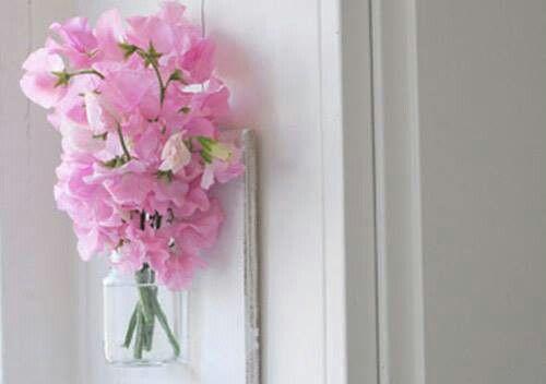 Floreros de frascos