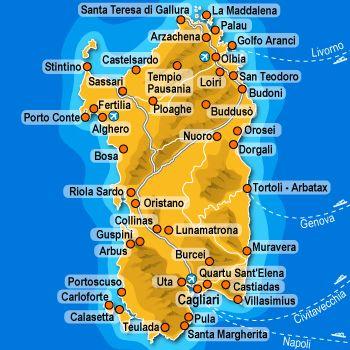 Cartina Di Uta Sardegna.Cosa Fare Una Settimana In Sardegna Visita 7 Posti In 7 Giorni Sardegna Sardegna Italia Ispirazione Di Viaggio