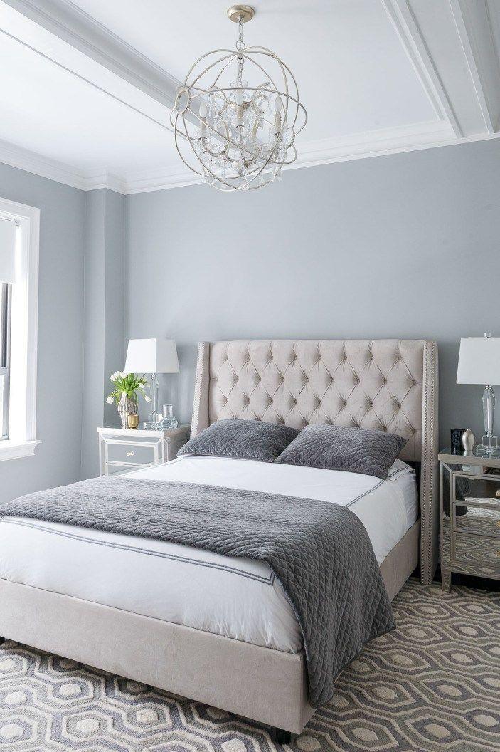 BEST Benjamin Moore Gray Paint Colors Bedroom color