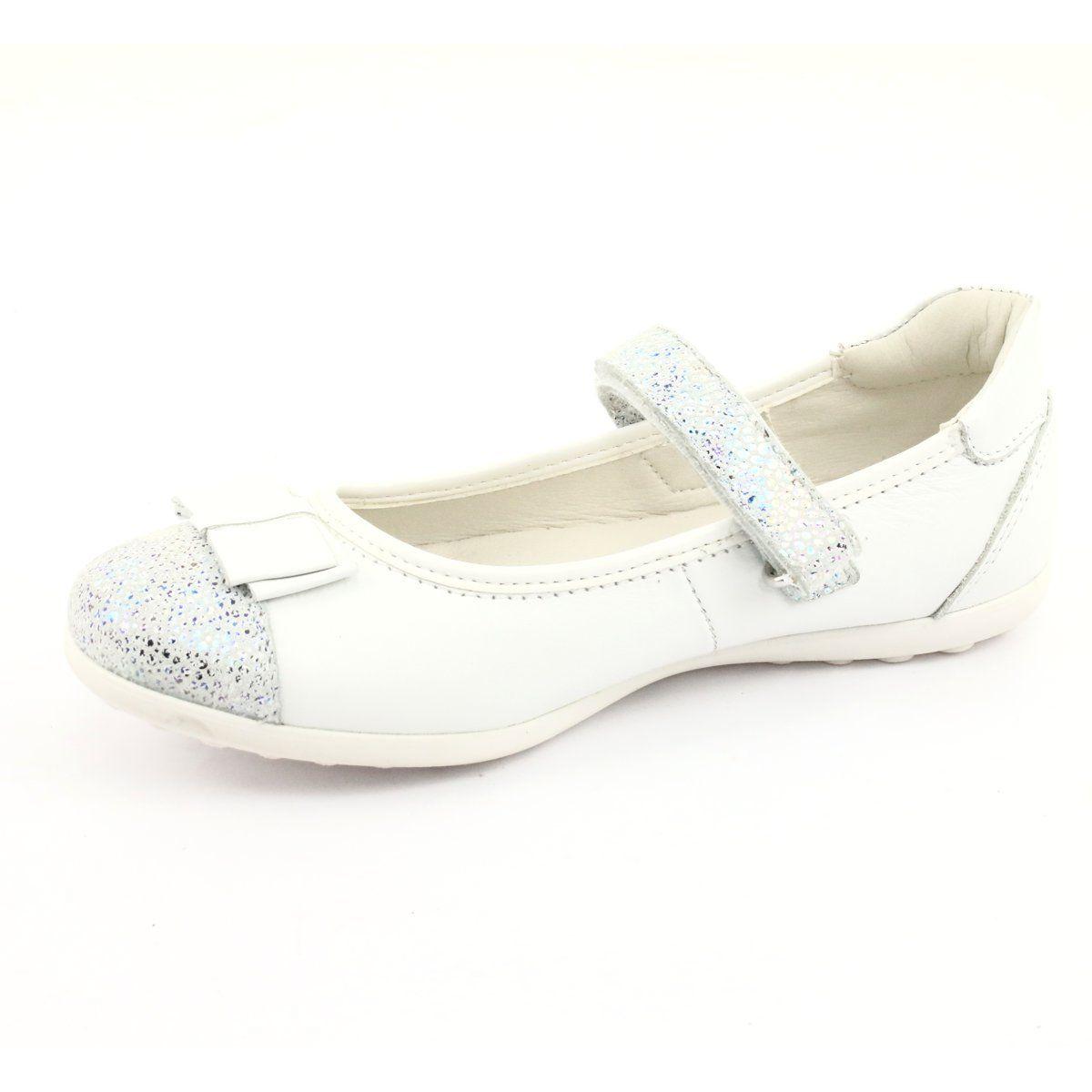 Befado Buty Dzieciece Balerinki 170y019 Biale Childrens Shoes Girls Pumps Girls Shoes