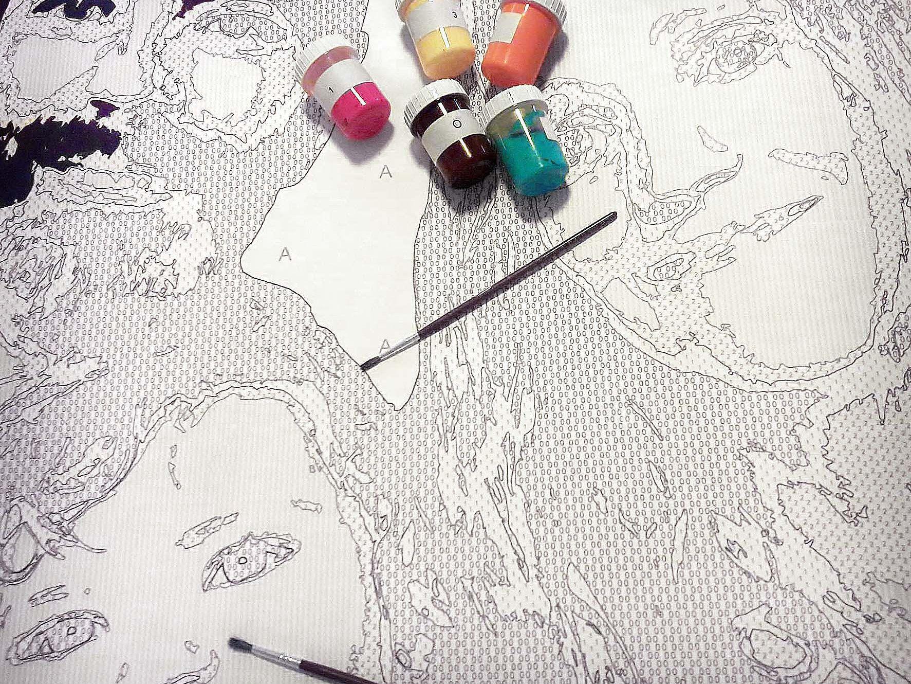 Pop Art Vom Foto Malen Selber Malen Mit Malen Nach Zahlen By Paintoix Pop Art Selber Malen Malen Nach Zahlen Selber Machen