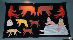 inuit wall hanging - Google Search