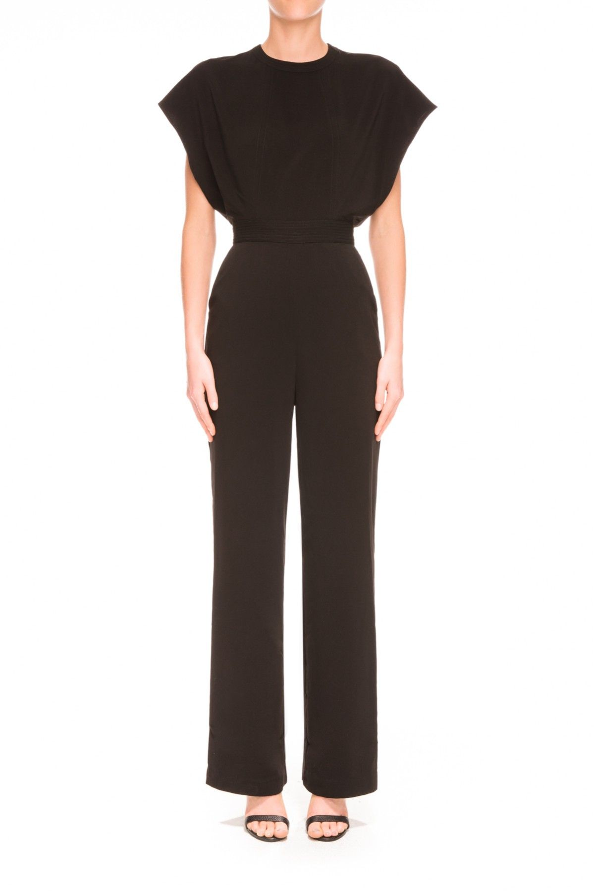 42ad90a473 C MEO Collective WILD WORLD JUMPSUIT BLACK - BNKR