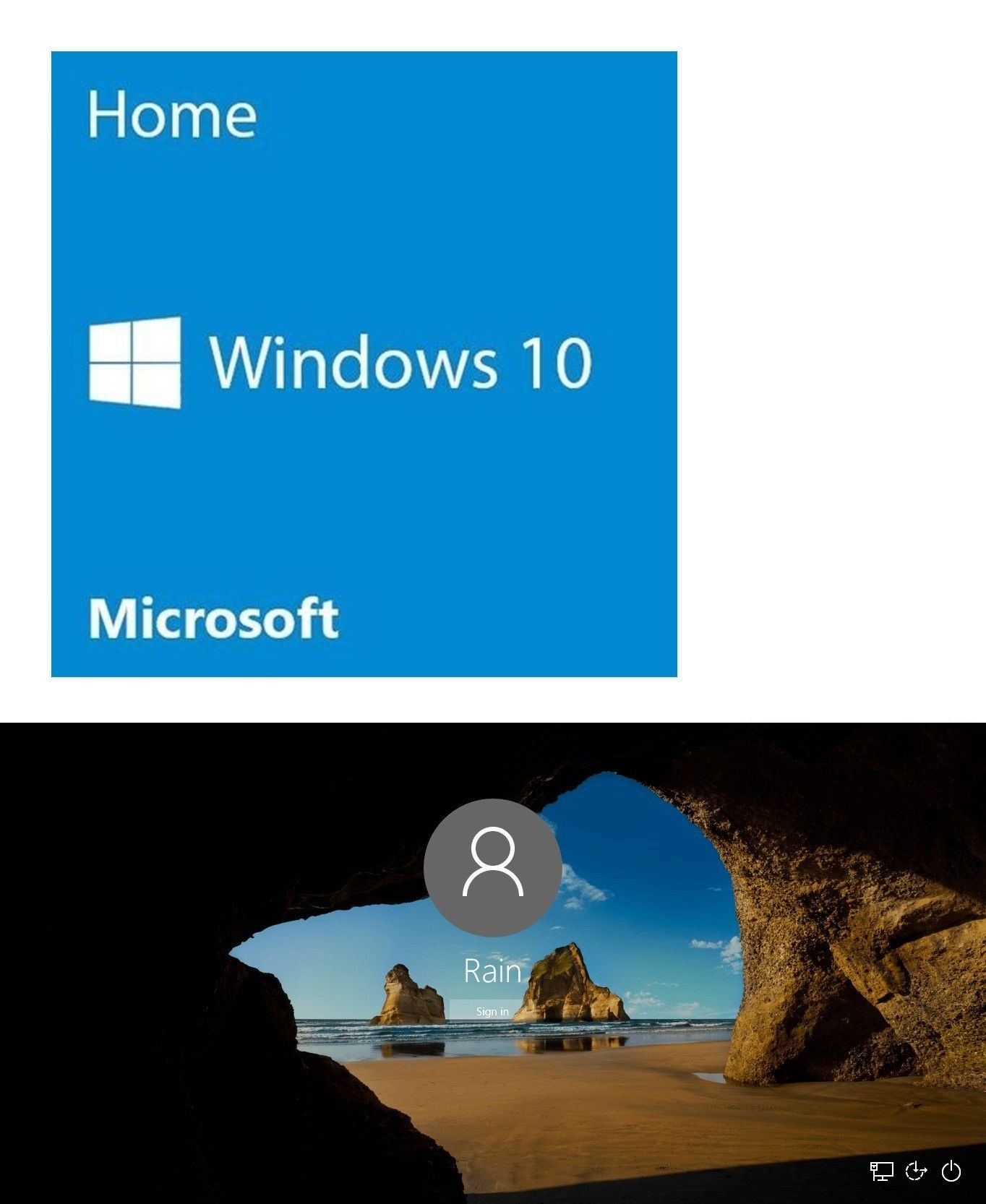 Software 40134: Microsoft Windows 10 Home 32 64 Bit ...