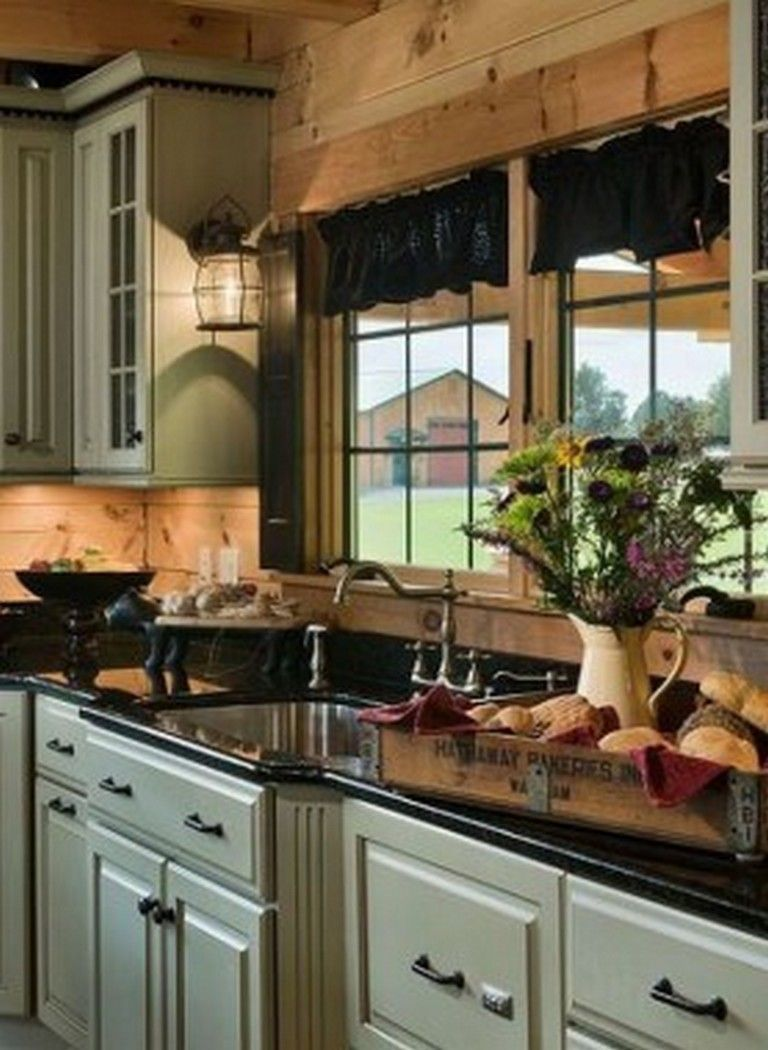 40 Dressy Rustic Kitchen Farmhouse Style Ideas You Must