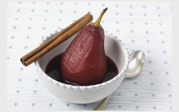 a comidinha: Pêras Bêbedas ou Peras em Vinho Tinto