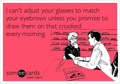 b5ec3953bd896a858711c7b9acab625b the pessimist optician ) funny optical humor meme laughter