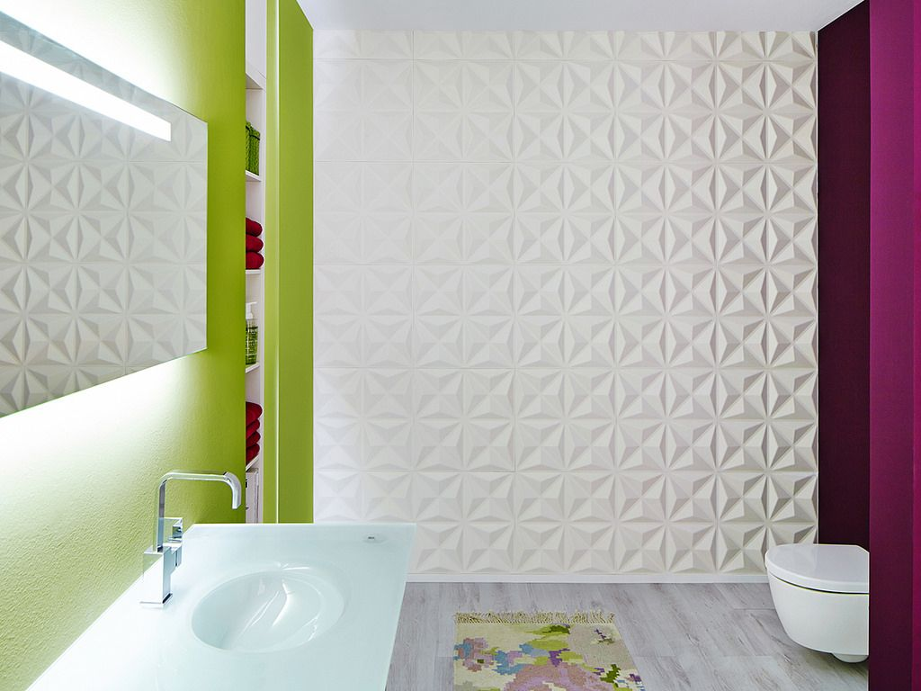 Bathroom Decorative Wall Panels Update A Bathroom Into A Contemporary Decorative And Astonishing