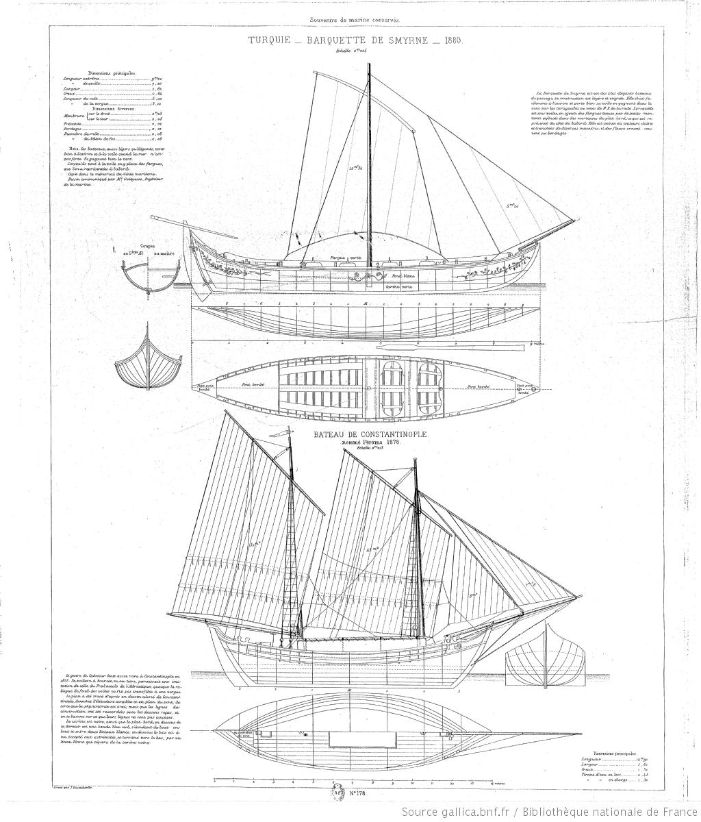 Collection De Plans Ou Dessins De Navires Et De Bateaux Anciens Et Modernes Existants Ou Disparus Avec Les Elements Numeriqu Dessin De Navire Bateaux Navire