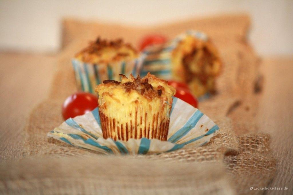 Herzhafte Kartoffelmuffins - leckeres Fingerfood!
