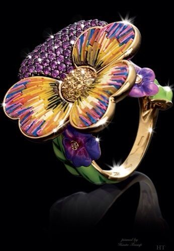 Flower Ring by Master Exclusive, ht