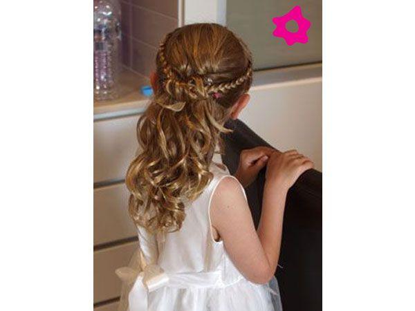 Peinados Para Pajes De Boda Peinados Peinados Nina Boda Peinados Con Trenzas Para Ninas