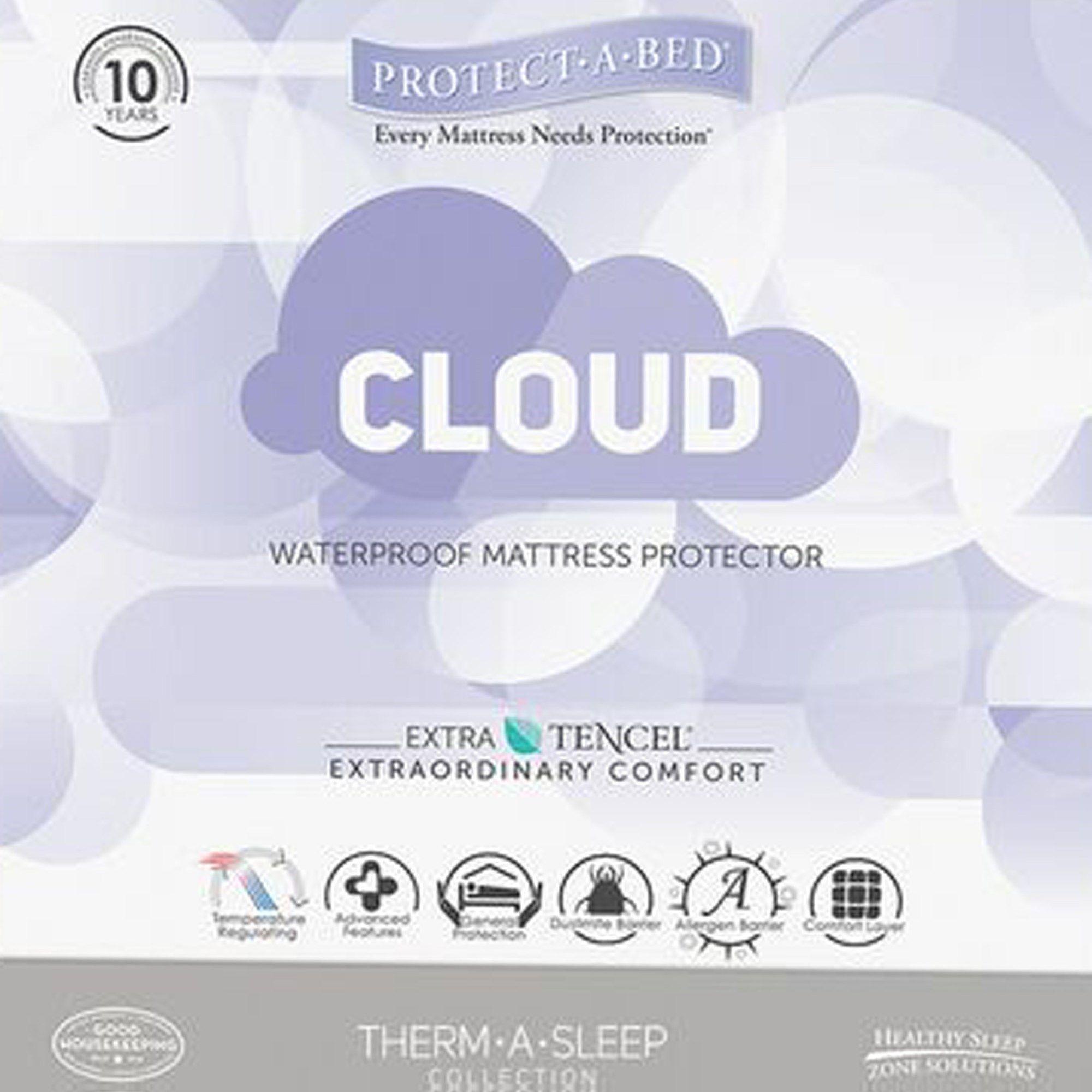 Cloud Mattress Protector Queen Water Proof Mattress ...