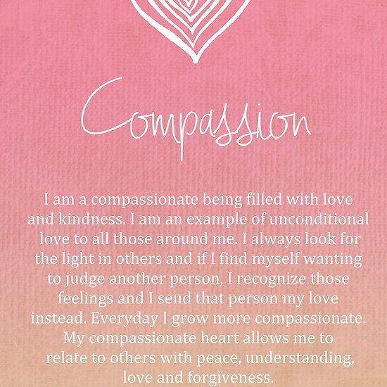 Affirmation - Compassion