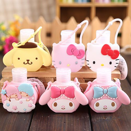 7 99 Cute Melody Pudding Dog Gemini Portable Hand Sanitizer