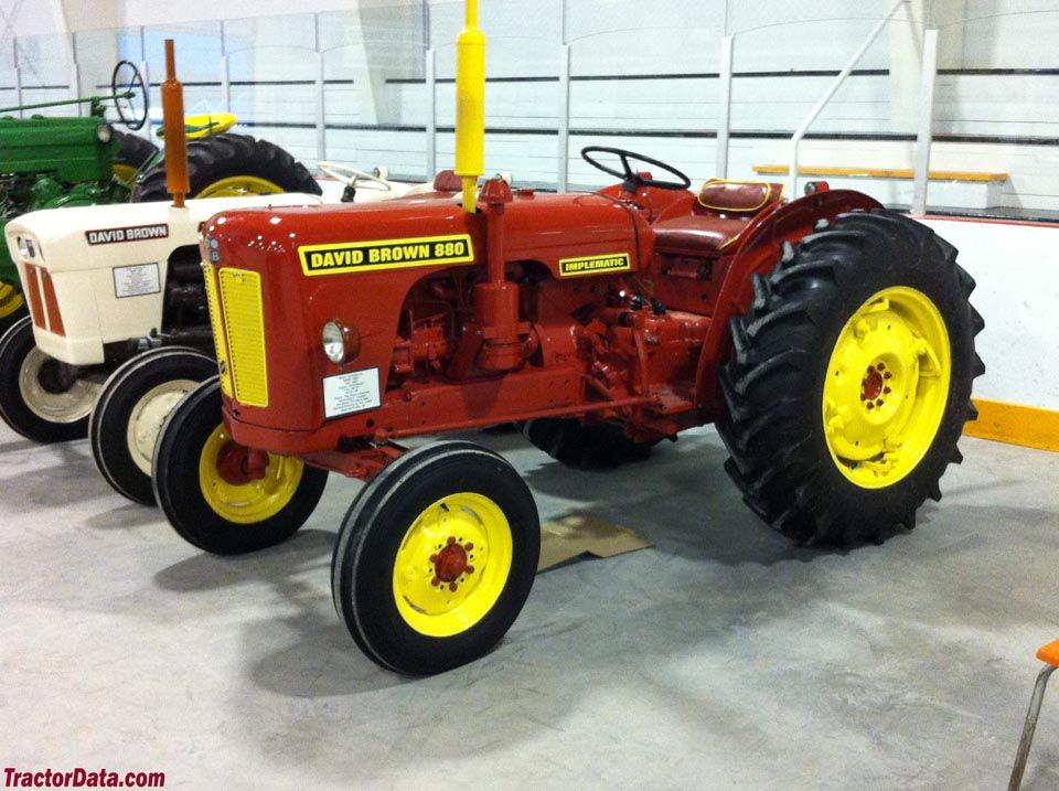 880 Ford Tractors : David brown implematic tractors made in great