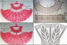 vestido de croche com grafico - Pesquisa Google