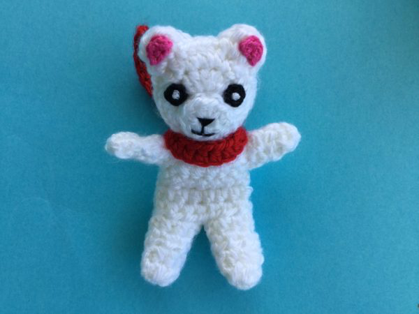 Crochet Teddy Bear Pattern (UK Version) #crochetbearpatterns