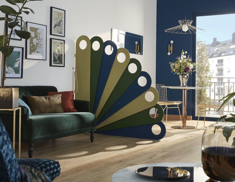 Un Paravent Pour L Interieur Leroy Merlin Deco Appartement Separation De Salle Idee Deco Maison