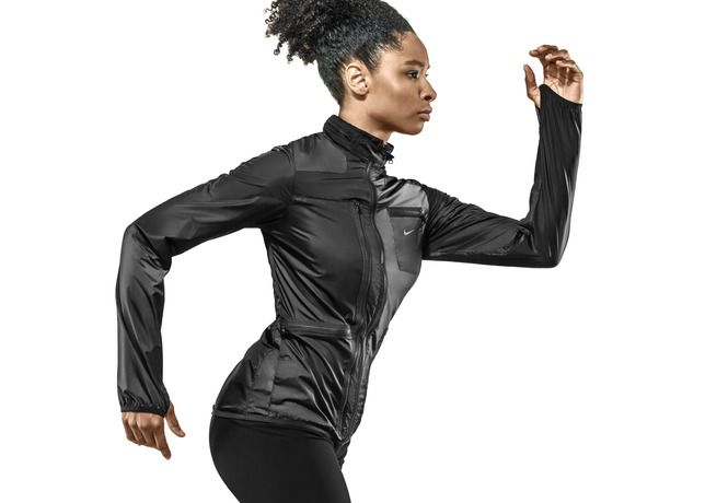 NIKE, Inc. - Nike Pays Homage to Carl Lewis with LA84 Women's Jacket…So nice.