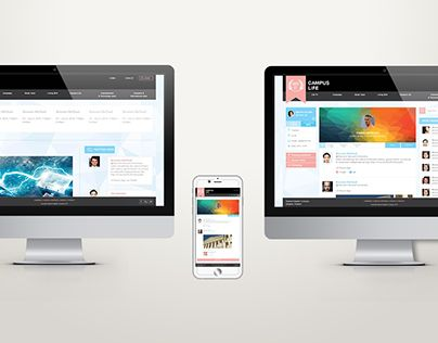"""Check out new work on my @Behance portfolio: """"CampusLife Website"""" http://be.net/gallery/32280923/CampusLife-Website"""